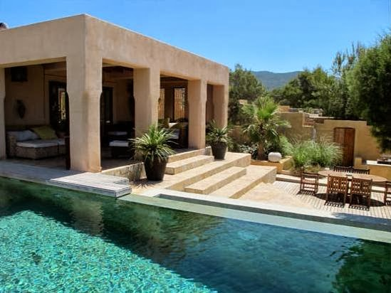 casa bohemia y exótica en Ibiza