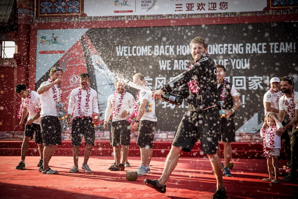 Charles Caudrelier et Team Dongfeng, vainqueurs à Sanya !