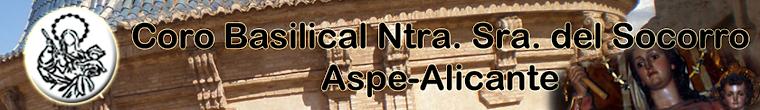 Coro Ntra. Sra. del Socorro de Aspe (Alicante)