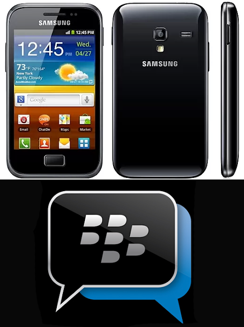 "Download ""BBM"" Untuk Samsung Galaxy Ace Plus"