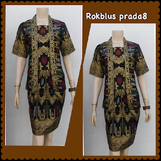 Baju Batik Dress DB 5002