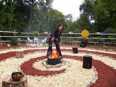 The Spiral Garden at Scranberry Coop