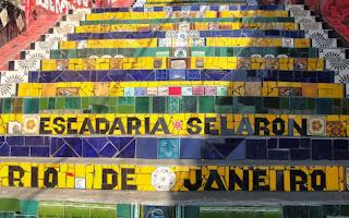 Rio turismo escadaria Seleron