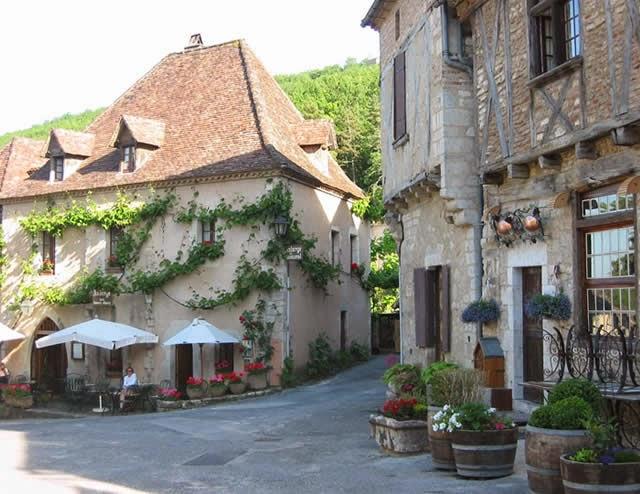 Saint-Cirq-Lapopie - Midi-Pyrénées, França, France