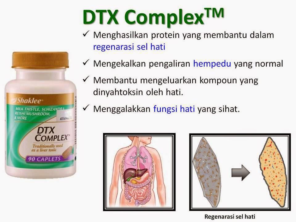 Fungsi Shaklee Dtx Complex