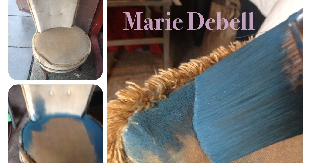 Marie Debell Fabric Magic With Annie Sloan Chalk Paint