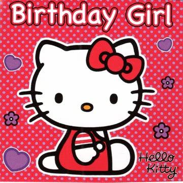 Free Email Card Templates: Free Printable Hello Kitty Birthday Card ...