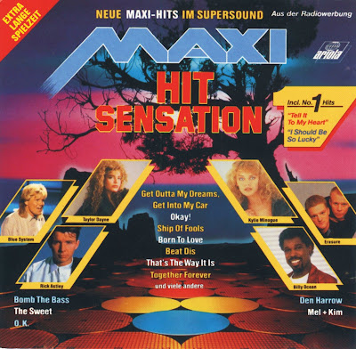 MAXI HIT SENSATION (Various Artists) (New Maxi Hits In Supersound) PWL 1988 Hi-NRG Eurobeat 80's