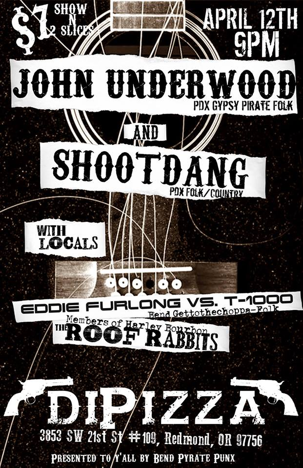JOHN UNDERWOOD, SHOOTDANG, EDDIE FURLONG VS THE T1000, & THE ROOF RABBITS