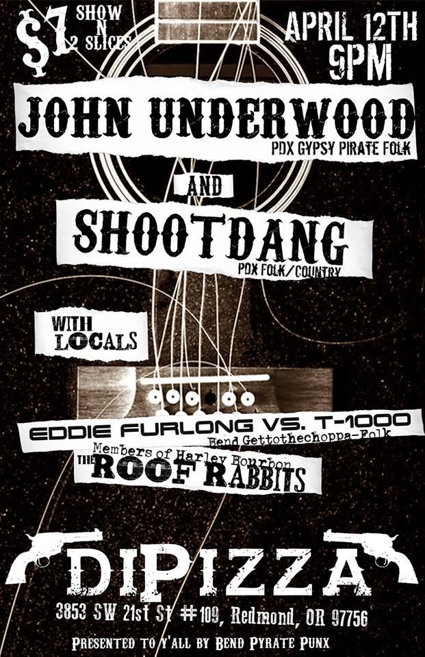 JOHN UNDERWOOD, SHOOTDANG, EDDIE FURLONG VS THE T1000, & THE ROOF RABBITS