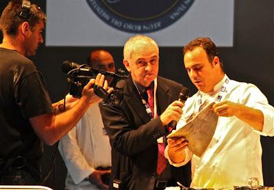Angel Leon en Gastronomika 2012. Blog Esteban Capdevila