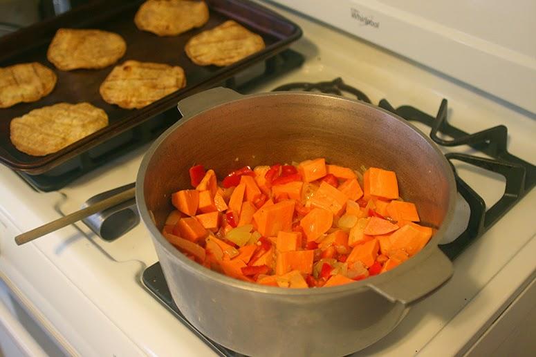 Meatless Monday: Sweet Potato Chili
