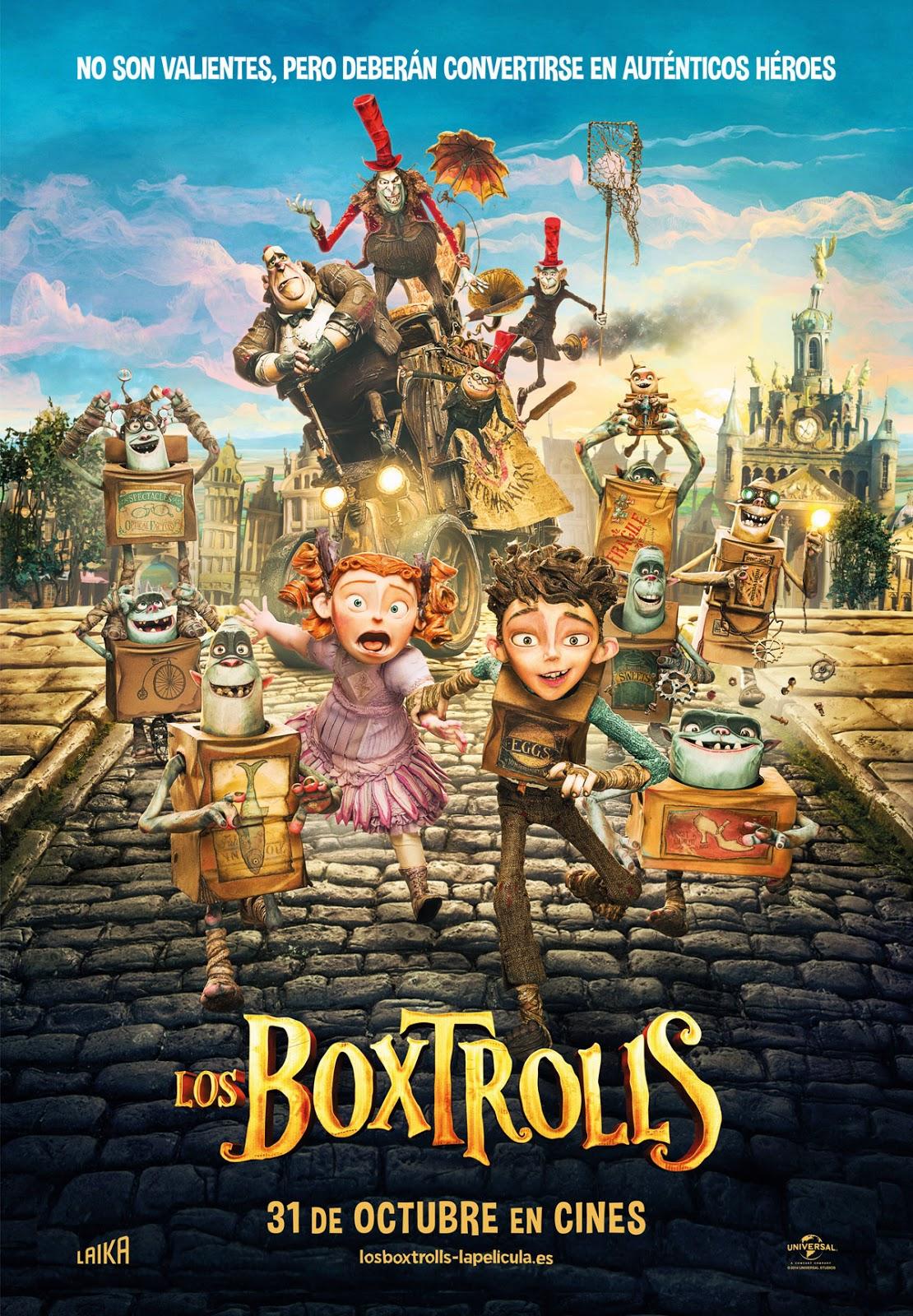 Los Boxtrolls – DVDRIP LATINO