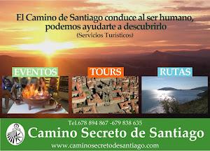 Visita nuestra web: <br>www.CaminoSecretodeSantiago.com