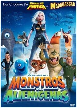 Assistir Monstros vs. Alienígenas Dublado Online