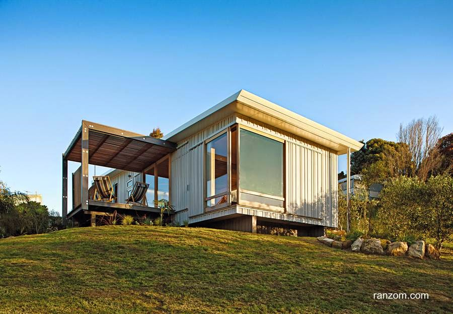 Arquitectura de casas casas modernas prefabricadas y for Modelo de fachadas de viviendas