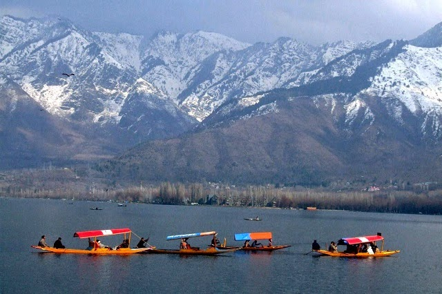Shikara ride - one of the most enjoying experience for tourists visiting Srinagar