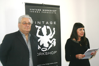 Georges Papa, Alice Anfuso at the Vintage Workshop® Milano