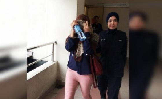Pelakon Zarina Anjoulie didenda RM5,000 atas kesalahan positif dadah