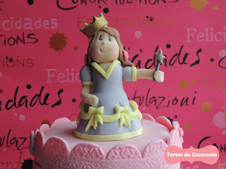 Tarta de Princesas: modelado de la Princesa