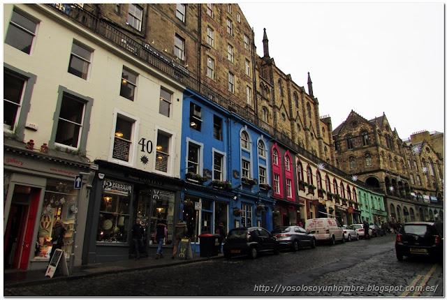 Victoria Street, tiendas y restaurantes