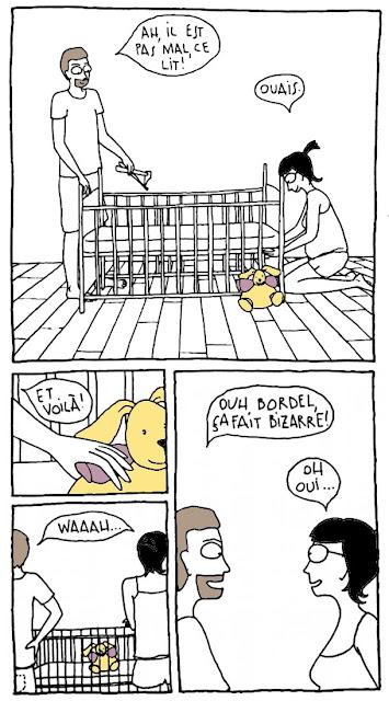 lit barreaux bébé enceinte grossesse peluche parents