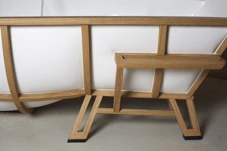 Moderna Bañera inspirada en un sillón clásico - BonitaDecoración.com