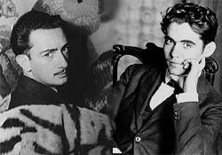 CARTAS EN LA NOCHE.- Federico Gª Lorca y Salvador Dalí