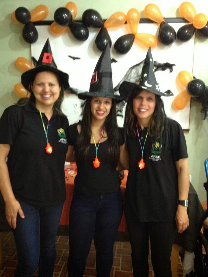 Festa de Halloween na APAE