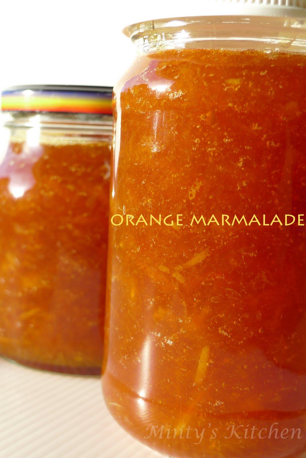 Minty's Kitchen: Orange Marmalade