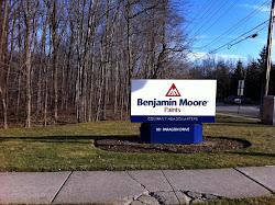 Tenhulzen Painting at Benjamin Moore Headquarters