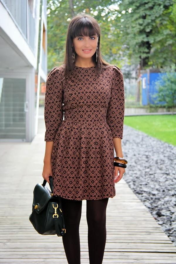 Iris Janvier printed dress