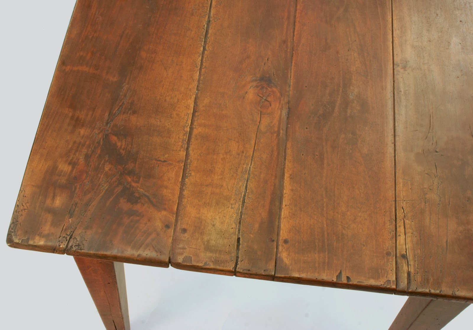 classic french farmhouse table with antique look in custom sizes
