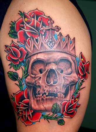 custom skull tattoos