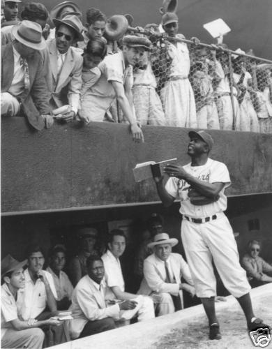 an argument about racial discrimination against jackie robinson In highlighting the importance of retaining section 18c of the racial discrimination act in a state wrought with racial tension, jackie robinson suited up for his first spring training game rosa parks was a hero in the fight against segregation.