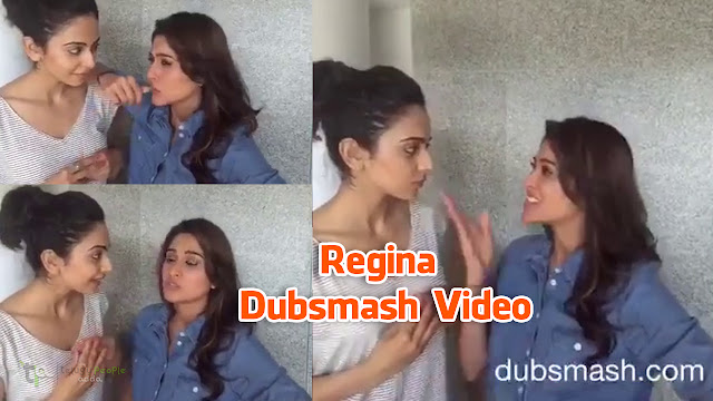 Regina Dubsmash Video on Sundeep Kishan Dialogue | Rakul Preet
