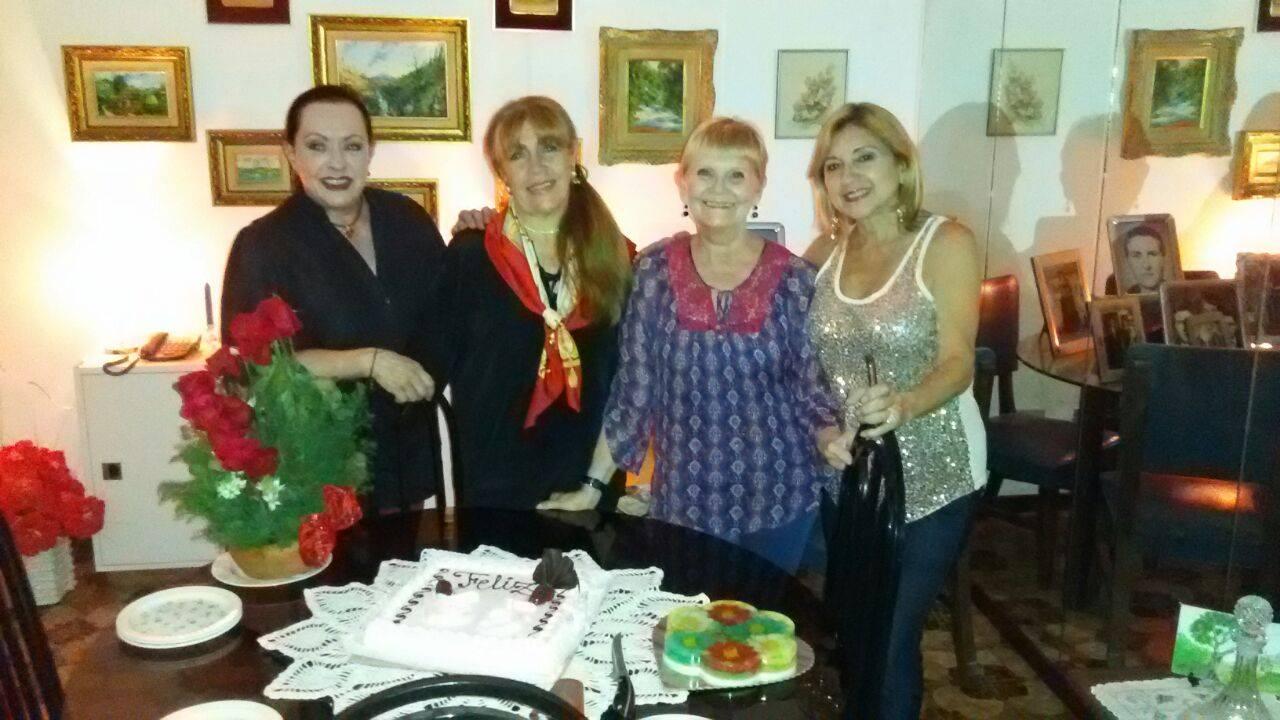 Loly Señaris Calviño y Isabel Rodriguez, Barbara Luks, y Norma Sanchez.