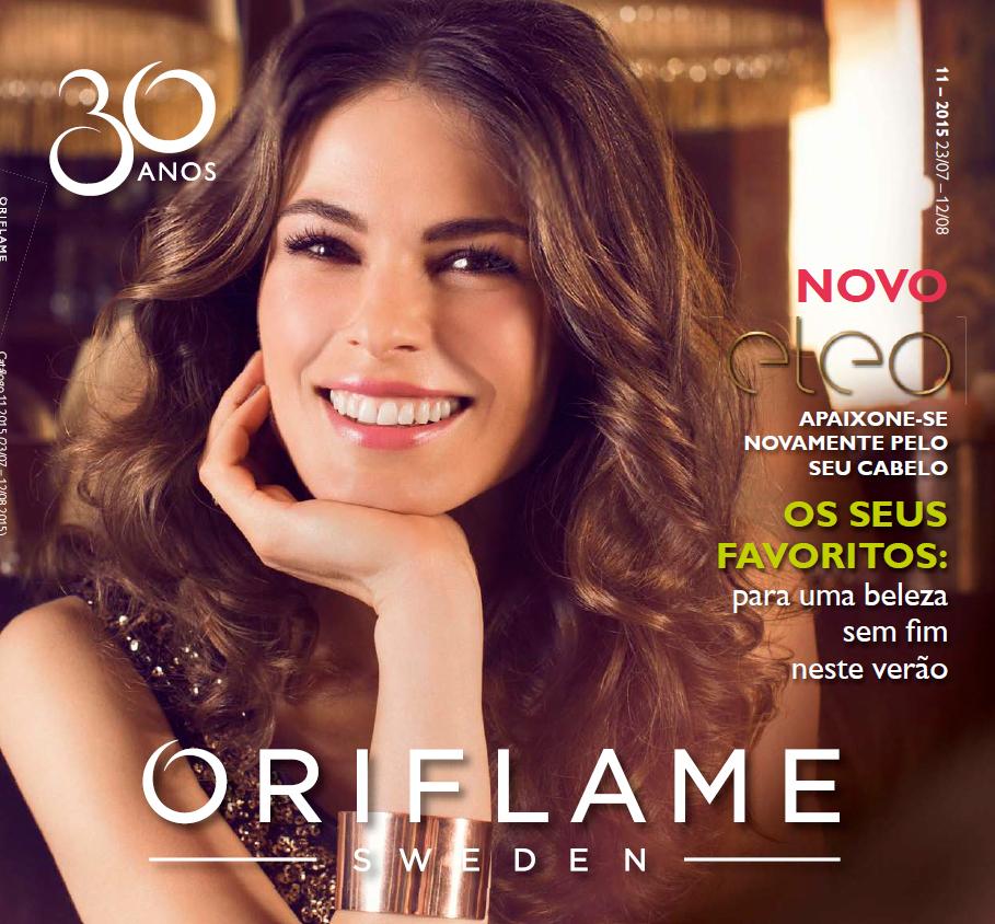 Catálogo 11 de 2015 da Oriflame