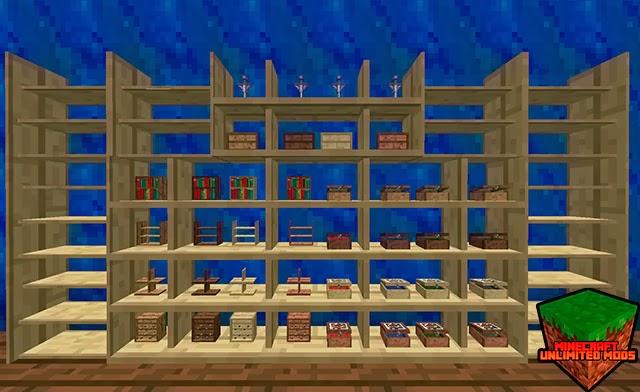 Bibliocraft Mod estanterias