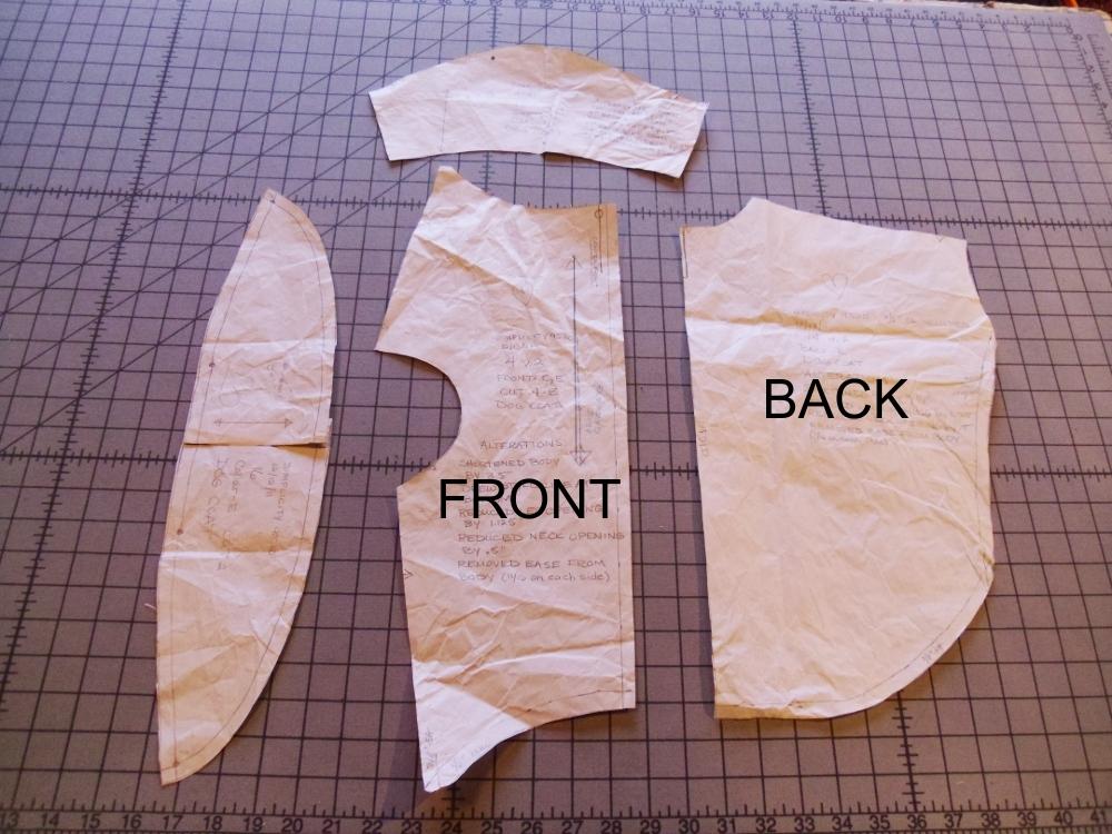 1/16/12: Sewing a U.S. Marine Dog Coat — Finished Piece |