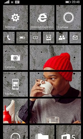 Microsoft #TileArt for Windows Phone