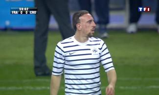Ribéry sifflé France Croatie