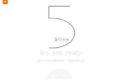 Bocoran gambar teaser Xiaomi MI5 menunjukan pemindai sidik jari