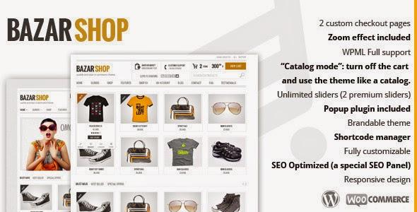 Bazar Shop – Multi-Purpose e-Commerce Theme