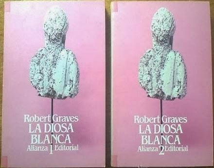 La Diosa Blanca de Robert Graves en 2 tomos