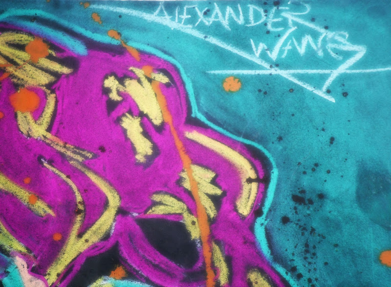 My artwork dedication to Alexander Wang title=