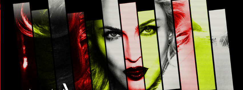 Facebook timeline cover of amazing madonna.
