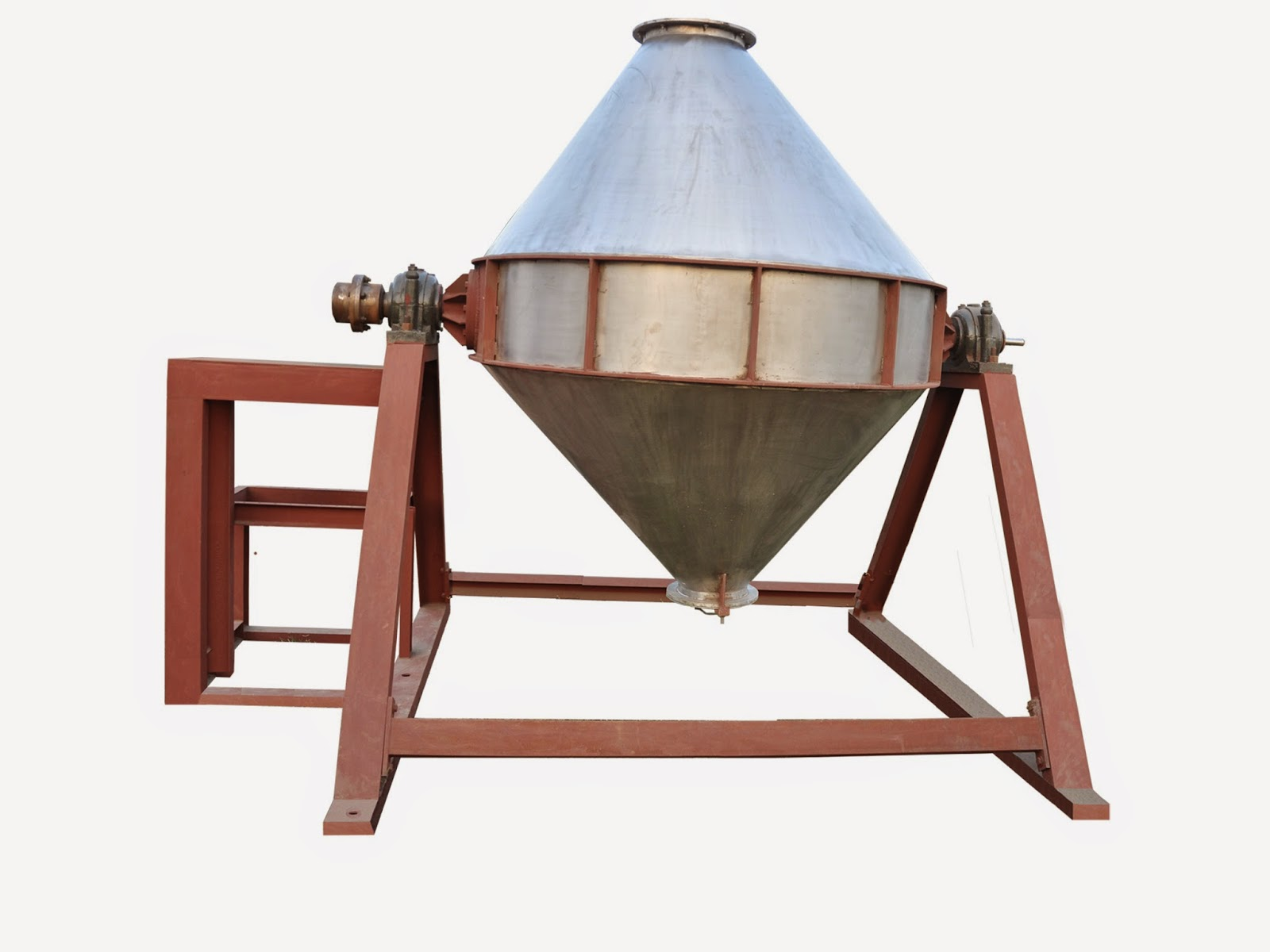 Double Cone Blender for Mixing Dry Powder