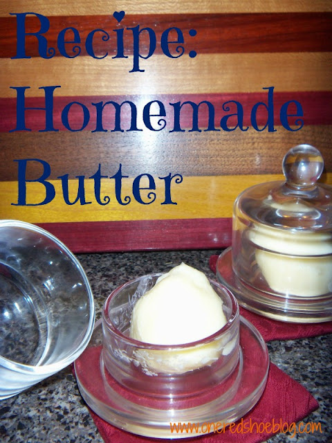 Easy way to make homemade butter