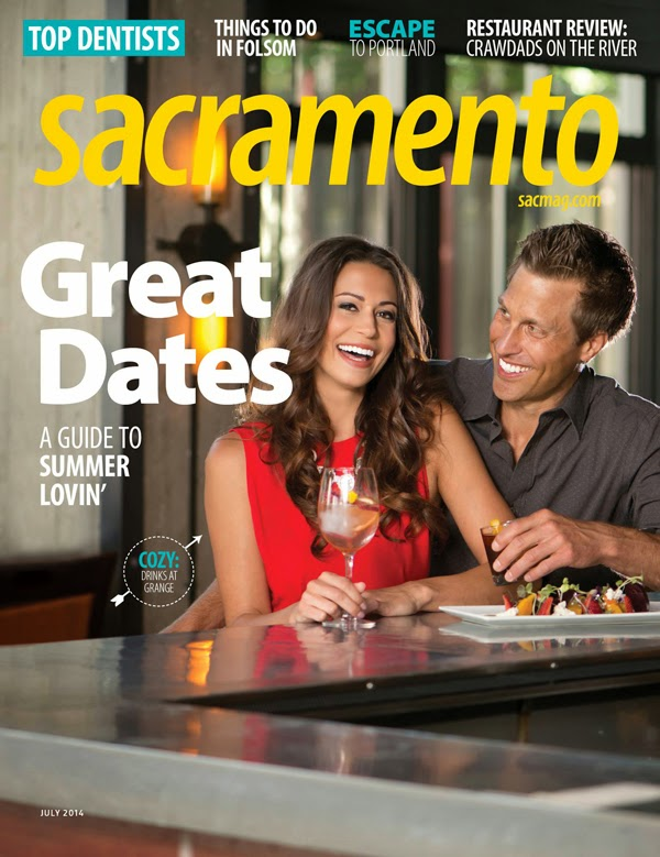 Cast Images - Sacramento Magazine - Carolie Cepel - Kyle Lawson